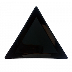 Triangle Spill Trays - Black