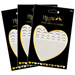 Magpie Nail Art Stickers - 006
