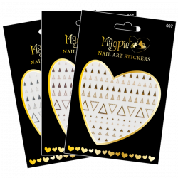 Magpie Nail Art Stickers - 007