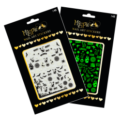 Magpie Nail Art Stickers - 148