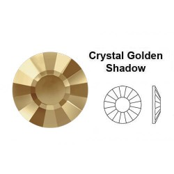 2034 Concise Crystal Golden...
