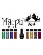 Magpie Nail art
